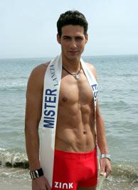 El malagueño Juan García Postigo elegido Mister España 2006. (Foto:EFE)