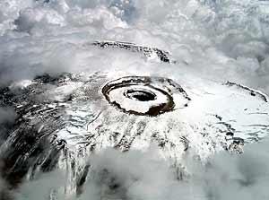 El Kilimanjaro, el pasado 10 de marzo. (Foto: Reuters)