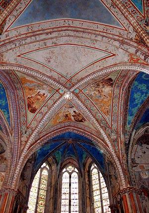 Detalle de los frescos. (Foto: EFE)