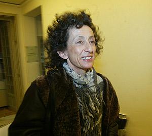 Mercedes Cabrera en los pasillos del Congreso. (Foto: Kike Para)