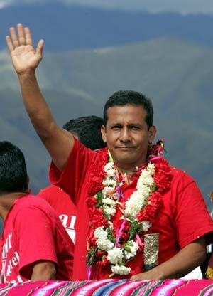 Ollanta Humala. (Foto: AFP)