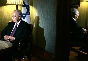 Simon Peres, la pasada semana, durante su visita a El Vaticano. (Foto: AP)