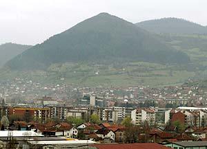 Imagen general de la montaña de Visocica. (Foto: EFE)