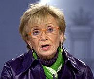María Teresa Fernández de la Vega. (Foto: Begoña Rivas)