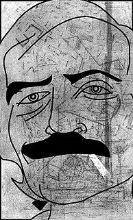 Rafael Reig. ( Caricatura: Luis Parejo)