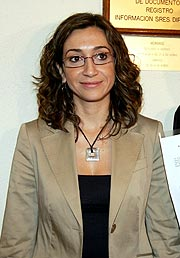 Isaura Navarro. (Foto: EFE)