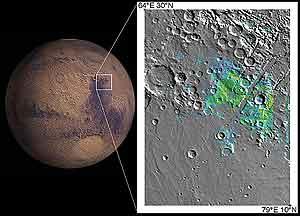 Los minerales encontrados en esta zona de Marte sólo se pudieron formar con la presencia de agua. (Foto: Science)