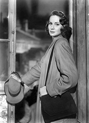 La actriz italiana Alida Valli, cuando rodó 'El tercer hombre' (1949). (Foto: AFP)