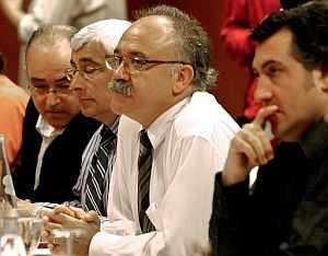 Reunión de la Ejecutiva de ERC celebrada en Barcelona. (Foto: EFE)