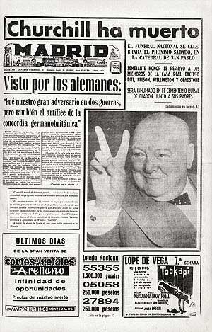 'Madrid', 25 de enero de 1965.