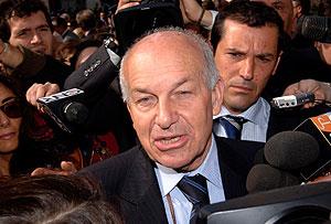 Fausto Bertinotti, en la sesión parlamentaria del viernes. (Foto: AP)