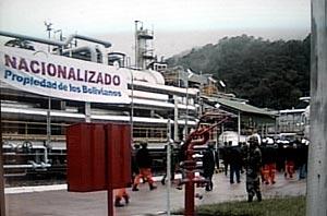 Imagen de la refinería de San Alberto de Tarija. (Foto: AP)