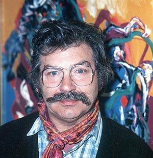 Foto de archivo de 1993 de Karel Appel. (Foto: EFE)