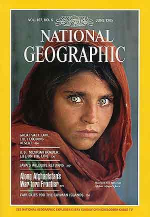 Una de las portadas más emblemáticas de la revista. (Foto: National Geographic)