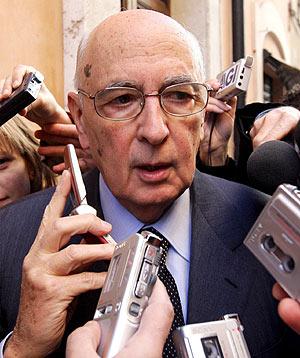 Giorgio Napolitano. (Foto: EFE)