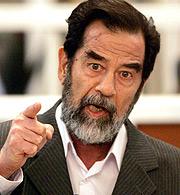Sadam Husein. (Foto: AFP)