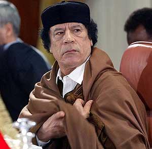 Muamar el Gadafi. (Foto: AFP)