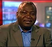 Guy Goma, el entrevistado accidental. (Foto: BBC)
