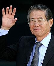 Alberto Fujimori. (Foto: EFE)