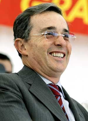Álvaro Uribe. (Foto: AP)
