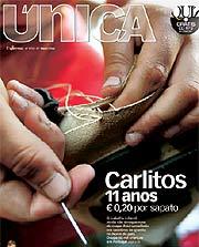Portada del suplemento 'Única', del semanario 'Expresso', que incluye el reportaje.