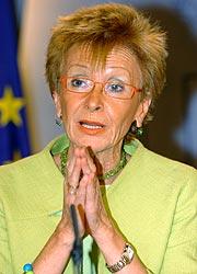 María Teresa Fernández de la Vega. (Foto: EFE)
