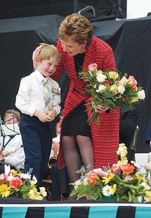 La presidenta de Irlanda, la mejor pagada. (Foto: AP)