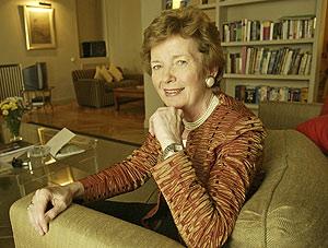 La ex presidenta irlandesa Mary Robinson, en una visita a Madrid. (Foto: Kike Para)