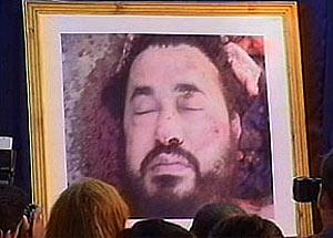 El cadáver de Al Zarqaui, mostrado por EEUU. (Foto: CNN)