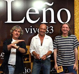 Ramiro Penas, Tony Urbano y Rosendo Mercado (de izda. a dcha.), durante la presentación. (Foto: EFE)