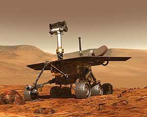 El 'Spirit' y el 'Opportunity' llevan más de dos años en Marte. (Foto: NASA)