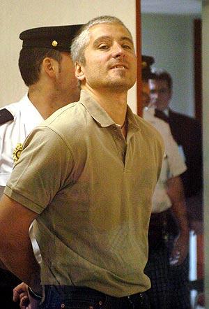 'Txapote', durante el juicio por la muerte de Blanco. (Foto: EFE)