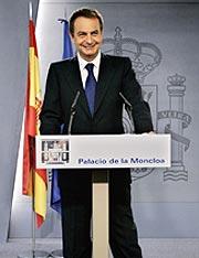 José Luis Rodríguez Zapatero. (Foto: AP)