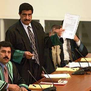 Khamis al-Obaidi, el abogado asesinado. (Foto: AFP)