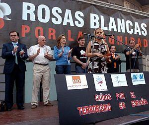 María del Mar Blanco, durante su intervención. (Foto: Víctor Lerena/Efe)