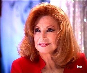 Rocío, en la última entrevista que concedió en televisión. (Foto: TVE)