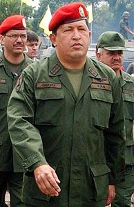 Chávez, en Caracas. (Foto: AP)