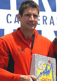 El deportista Fernando García Herreros.