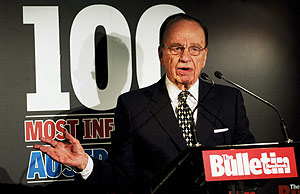 Rupert Murdoch, en un acto celebrado en Sydney. (Foto: EFE)