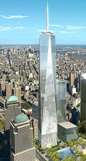 Maqueta de la Torre de la Libertad. (Foto: AP)