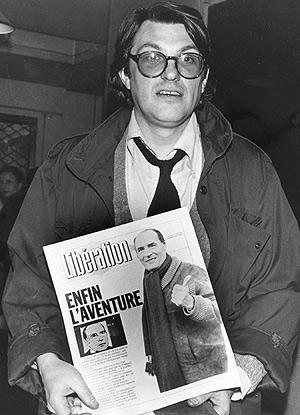 Serge July, en 1981. (Foto: AP)