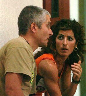 'Txapote' habla con 'Amaia' durante el juicio por la muerte de Blanco. (Foto: EFE)