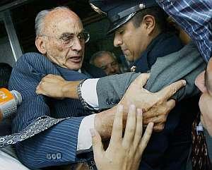Momento de la detención. (Foto: AP)