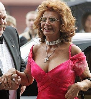 Sophia Loren Musa Del Calendario Pirelli 2007 Elmundoes