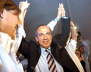 Felipe Calderón. (Foto: EFE)