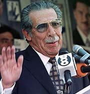 José Efraín Ríos Montt. (Foto: REUTERS)