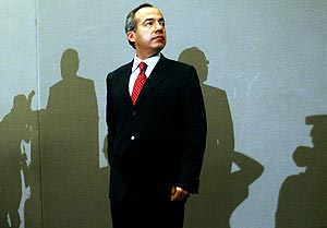 Felipe Calderón. (Foto: REUTERS)