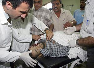 Uno de los muertos en la morgue de Jan Yunes. (Foto: REUTERS)