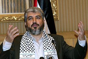 El jefe de la oficina política de Hamas, Jaled Misha. (Foto: AFP)