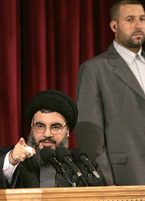 El jeque Hasán Nasralá, líder de Hizbulá. (Foto: REUTERS)